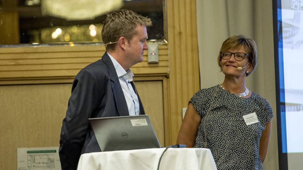 Alex Reid, Director, Oil & Gas, CD-Adapco/Siemens Kerstin Hindrum, Offshore Väst