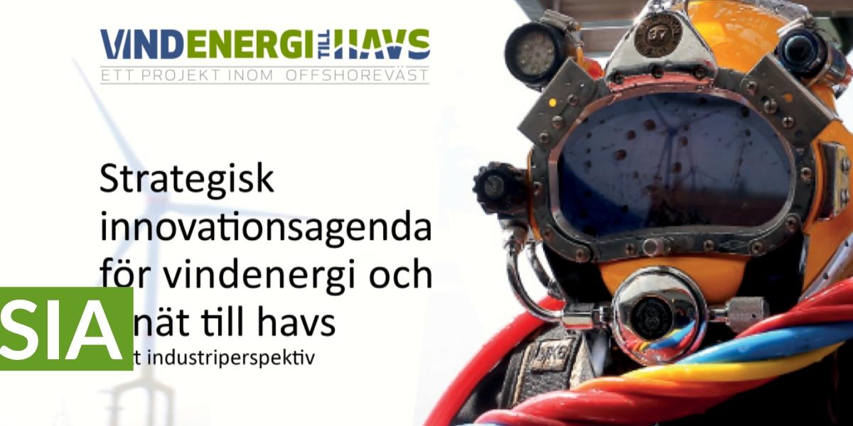 Strategisk innovationsagenda för vindenergi och elnät till havs