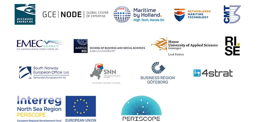 Periscope utgörs av följande projektdeltagare