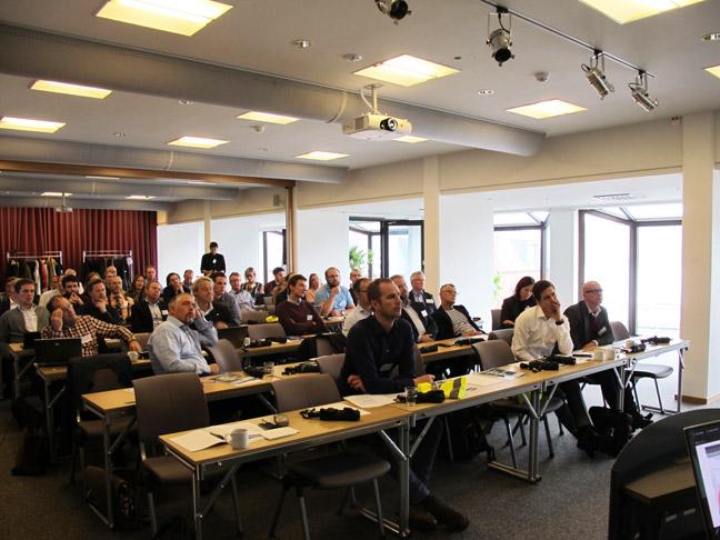 Konferensdeltagare Offshoreväst Årskonferens 2018
