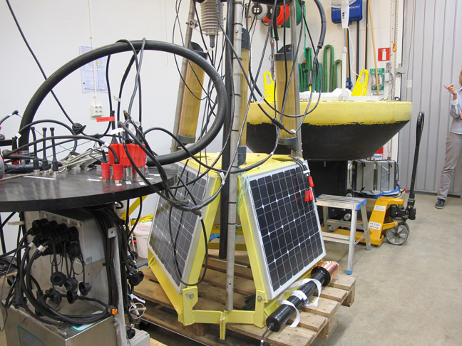 SMHI:s oceanografiska verkstad mätinstrument
