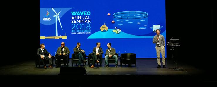 Pierre Ingmarsson WP-ledare OffshoreVäst agerar moderator WavEC 2018