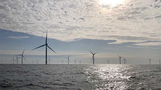 Den havsbaserade vindkraftparken Arkona