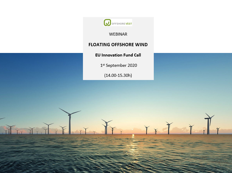 WEBINAR FLOATING OFFSHORE WIND EU Innovation Fund Call 1 September 2020